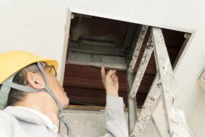 雨漏り(漏水)工事の実施