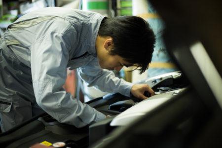 使用していない倉庫の再活用<br /> 自動車整備工場へ用途変更