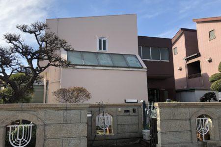 千葉県千葉市稲毛区個人邸改修工事後外装