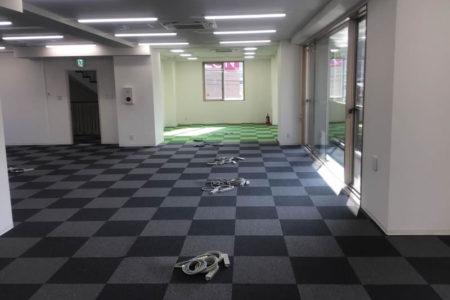 事務所フロア施工後2